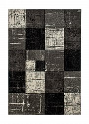 Tappeto 133 x 190 cm (wilton) - London Square (nero)