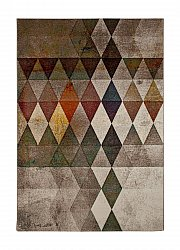 Tappeto 133 x 190 cm (wilton) - London Modern (multi)