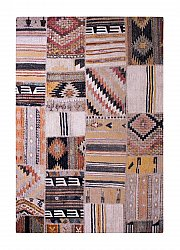 Tappeto 133 x 190 cm (wilton) - Tibet Patch (multi)