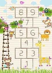 Tappeti per bambini - Counting Animals (multi)